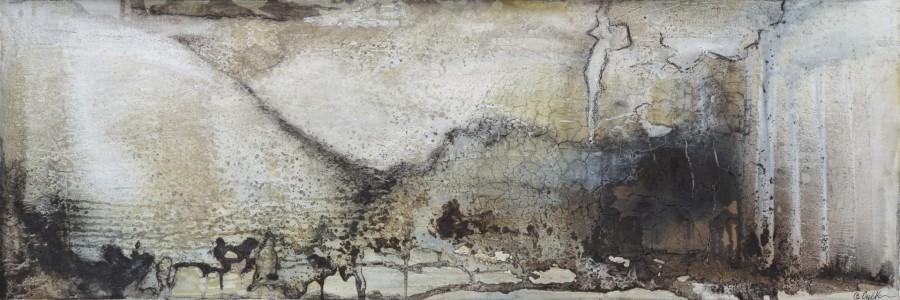 1.500 x 500 Leinwand, quer | Mischtechnik auf LW