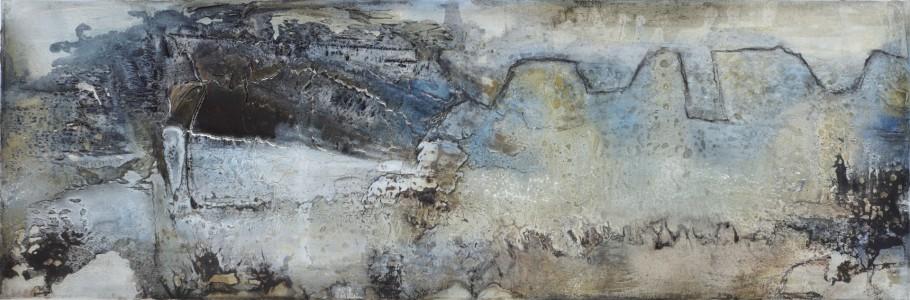 1.200 x 400 Leinwand, quer | Mischtechnik auf LW