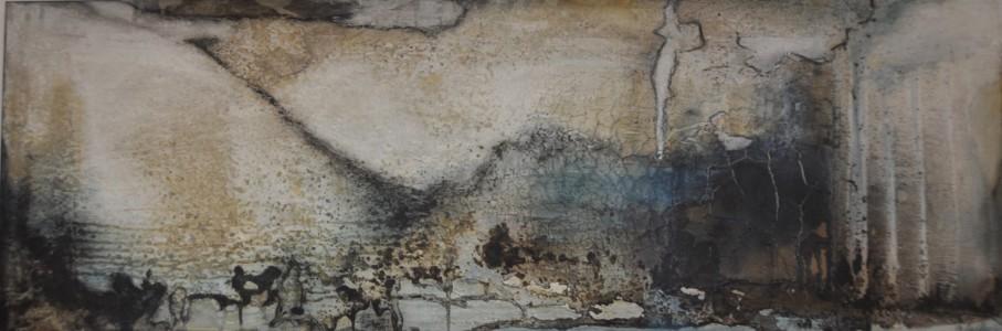 1.500 x 500 Leinwand | Mischtechnik auf LW
