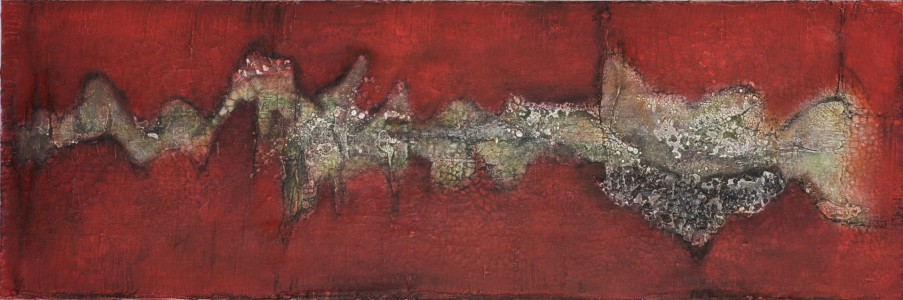 1.200 x 400 Leinwand | Mischtechnik auf LW
