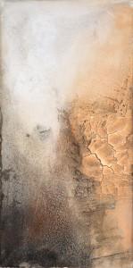 500 x 1.000 | Raumentfaltung II (Mischtechnik auf LW)